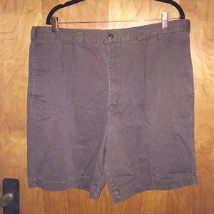 Men's Brown Perry Ellis Shorts